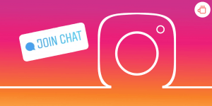 Chat sticker instagram