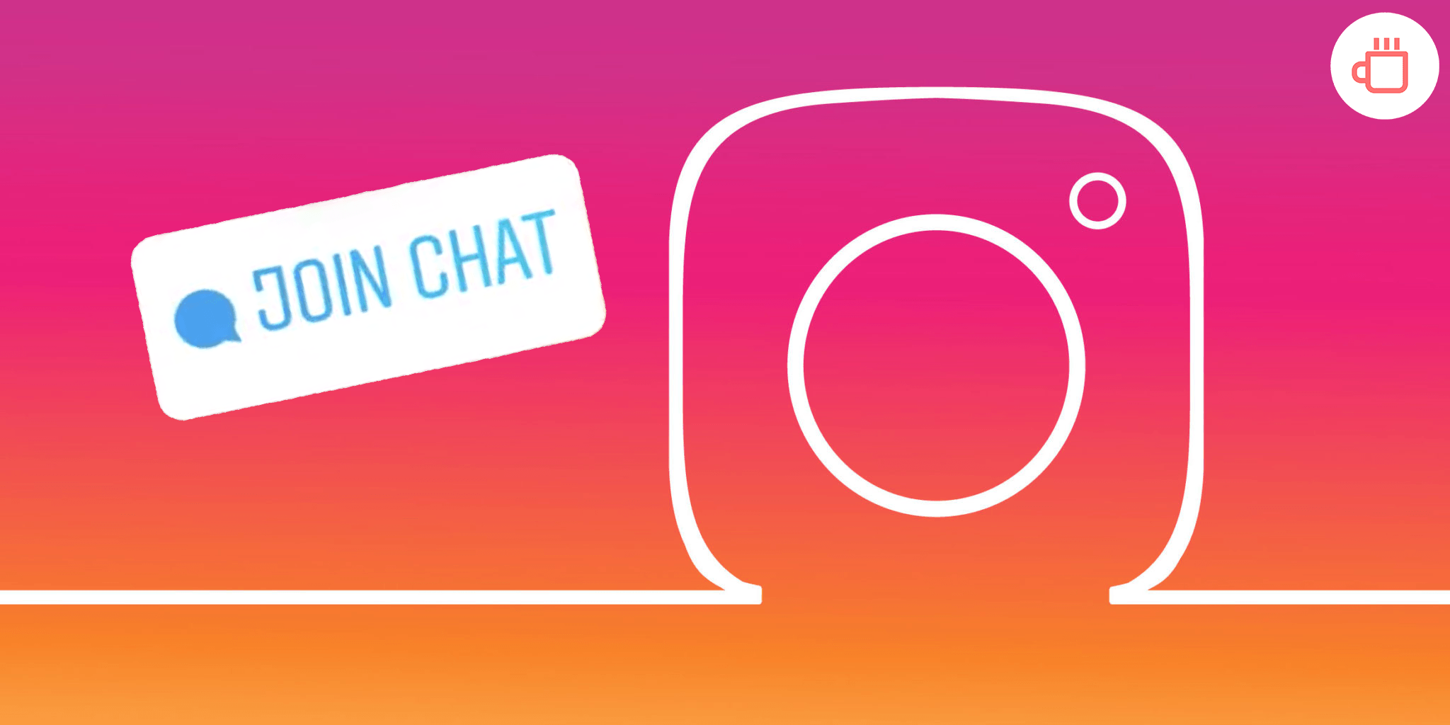 Chat sticker instagram
