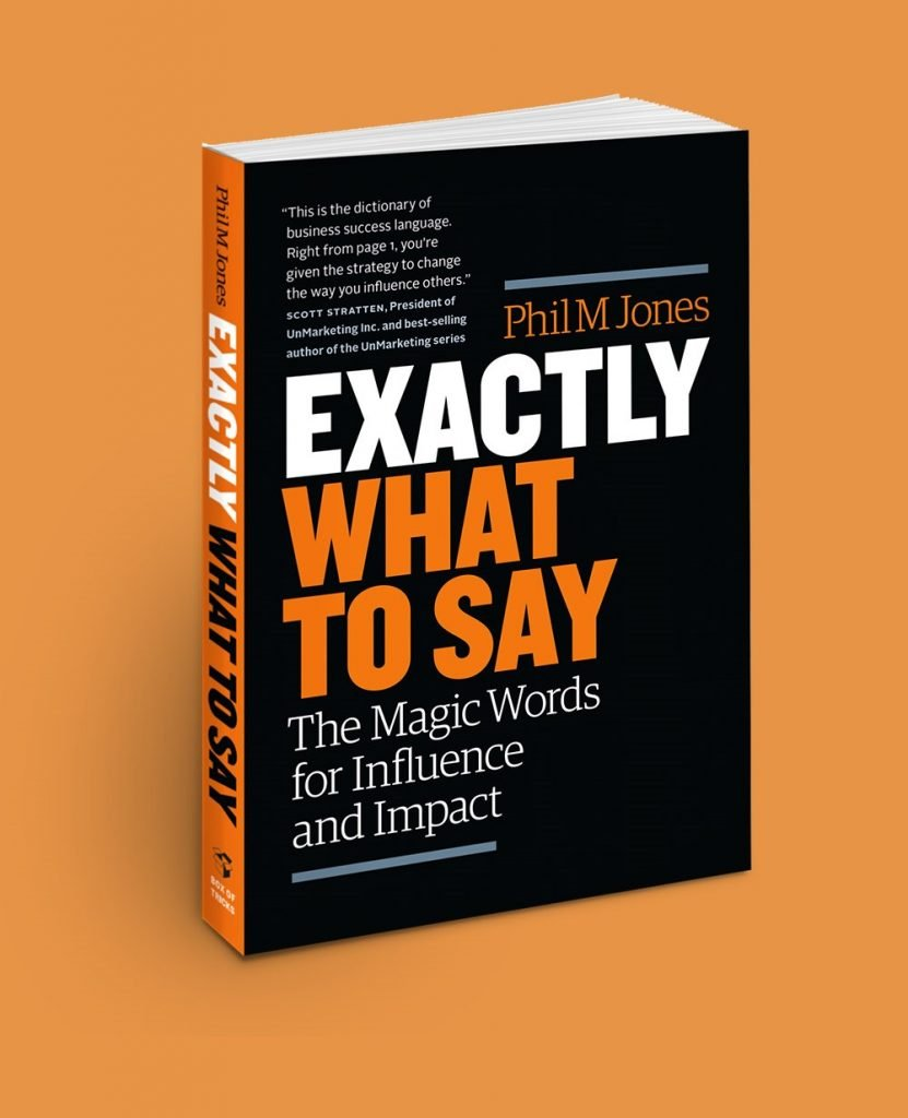 Influenzare gli altri - Exactly What To Say copertina del libro