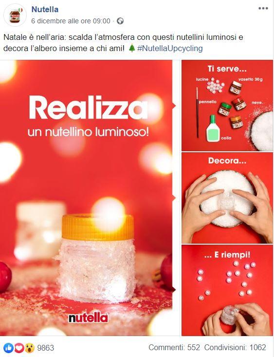 Le migliori campagne di Natale 2019 - Nutella