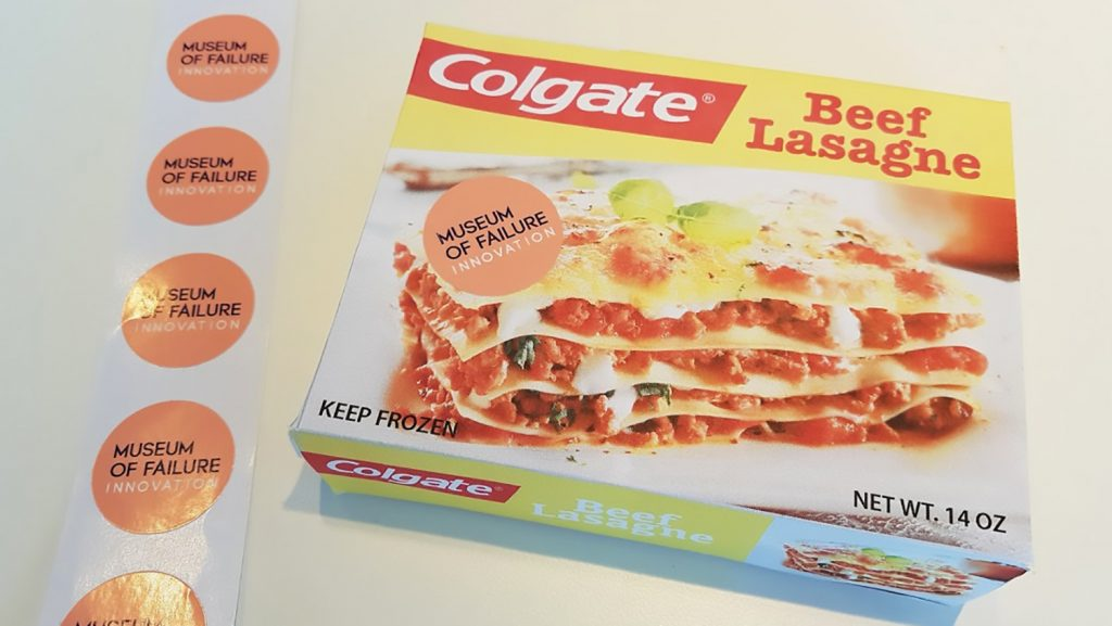 Flop branding Colgate