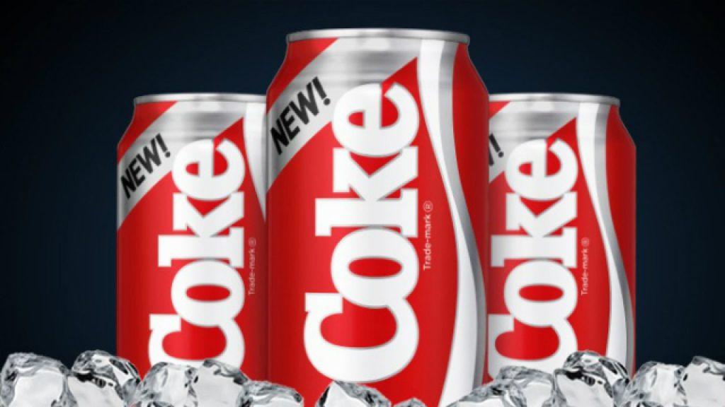 Flop branding New Coke