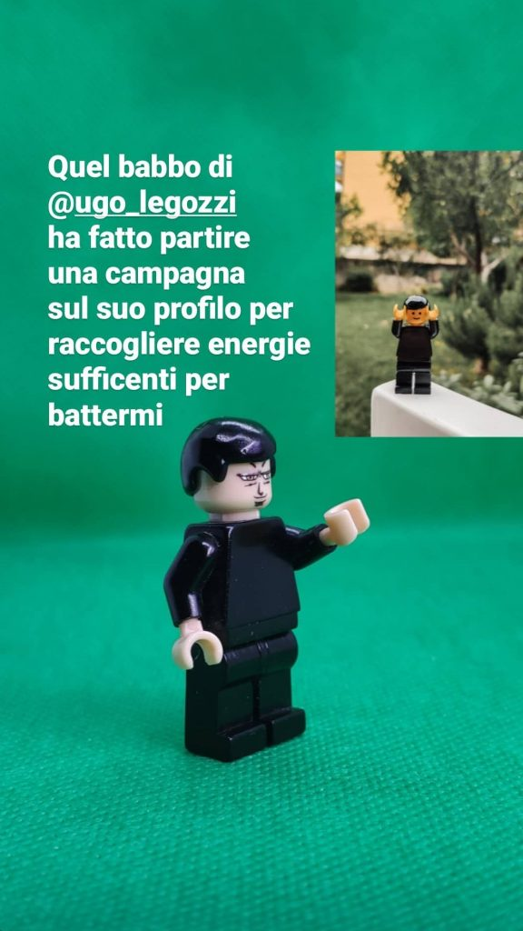 Gamification di Legolize nelle Storie