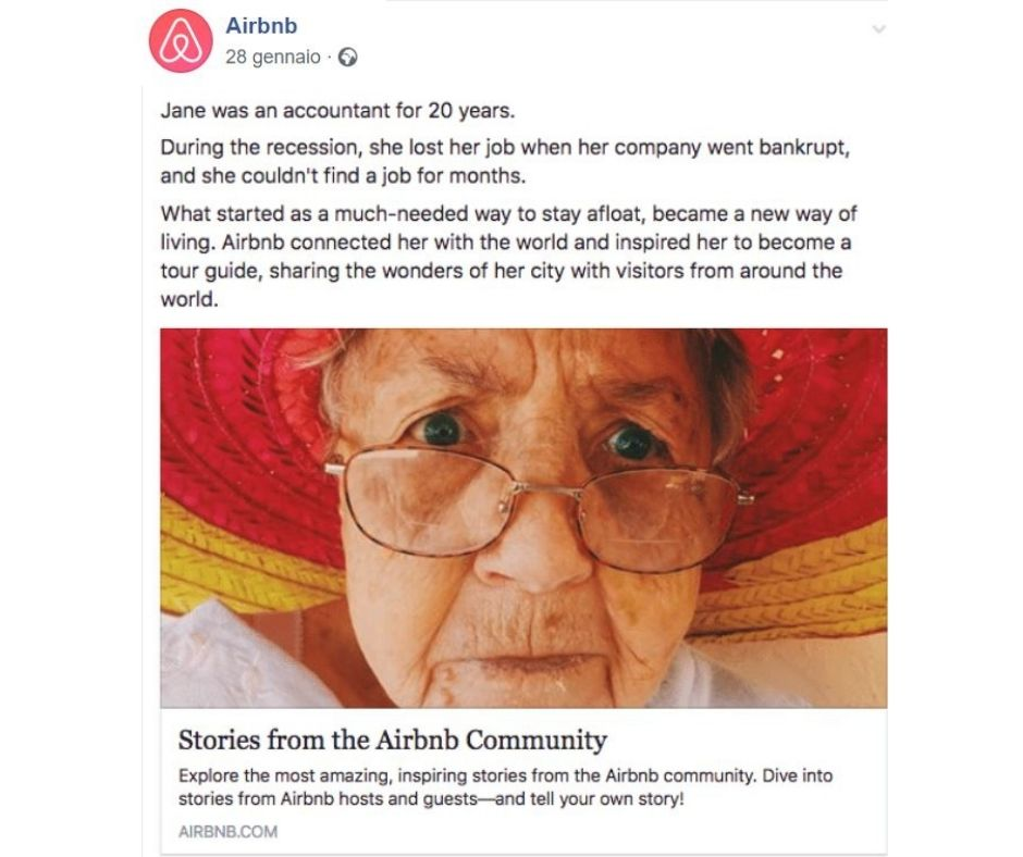 storytelling airbnb