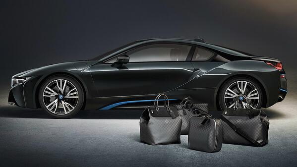 co-branding BMW Louis Vuitton