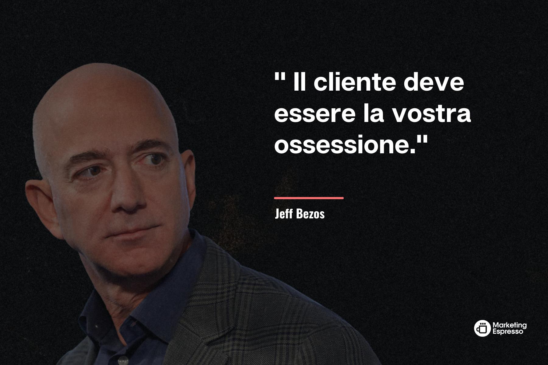 Jeff Bezos e il suo codice di vita