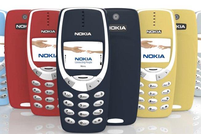 Il Nokia 3310, frutto della creatività degli ingegneri Nokia.
