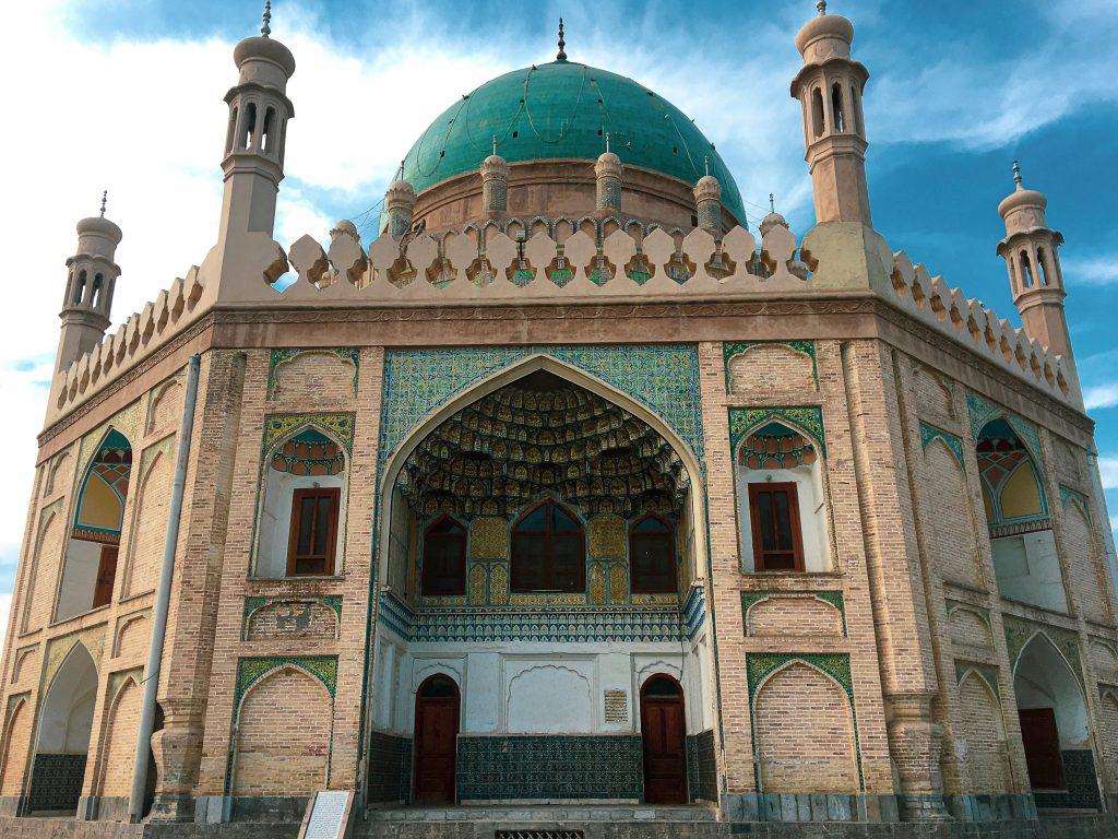 Tomba del Fondatore del moderno stato dell'Afghanistan. Ahmad Shah Durani